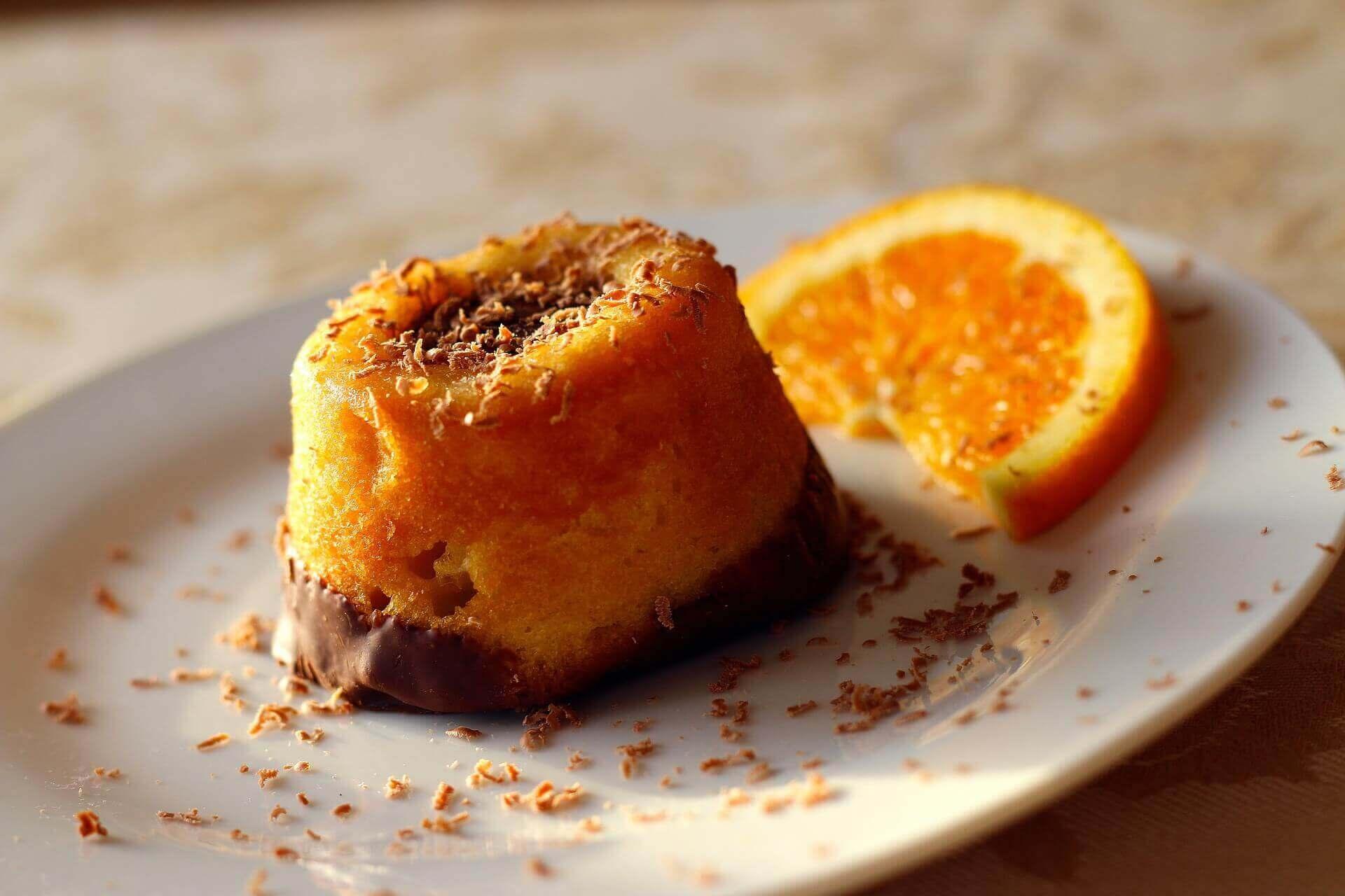Speculaas gingerbread cake