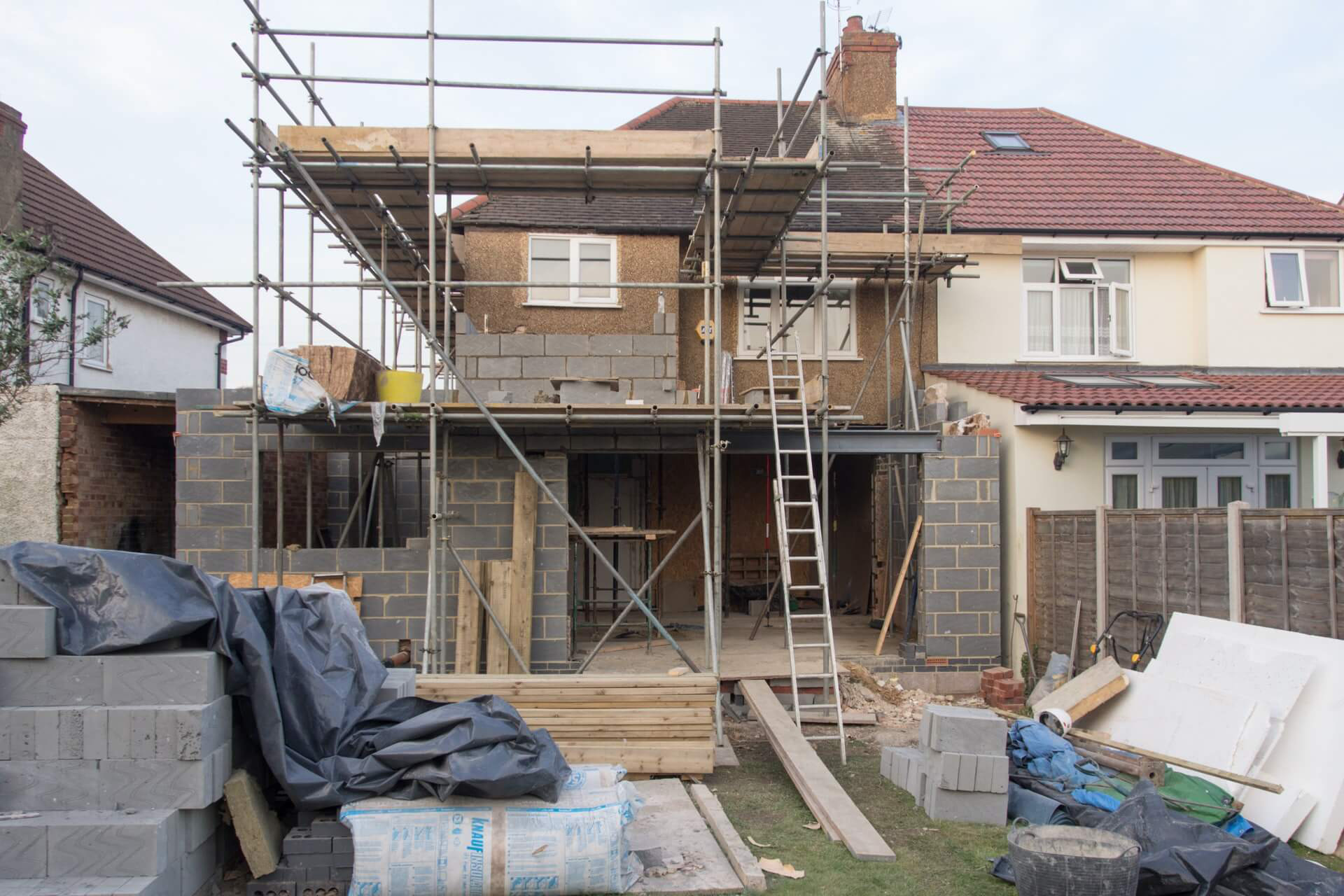 Old renovation projects