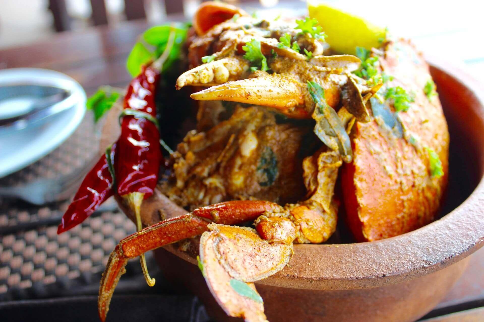 Deliciously spicy Thai chili crab recipe